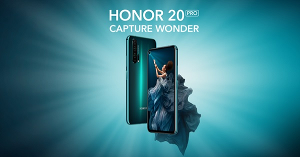 honor 20 pro capture wonder